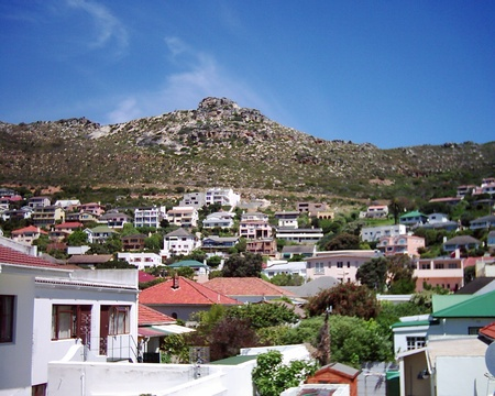View from Simons Town Room - A Tuscan Villa Guest House Fish Hoek