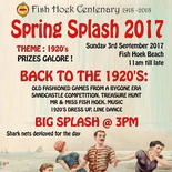 Fish Hoek Annual Spring Splash 2017